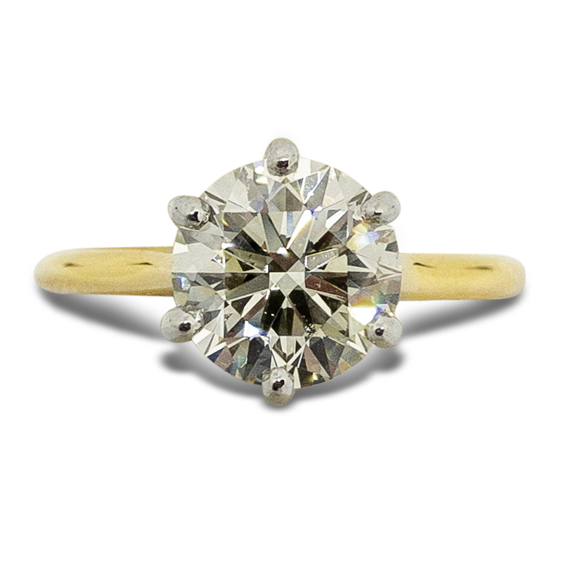 2.01ct. Solitaire Ring