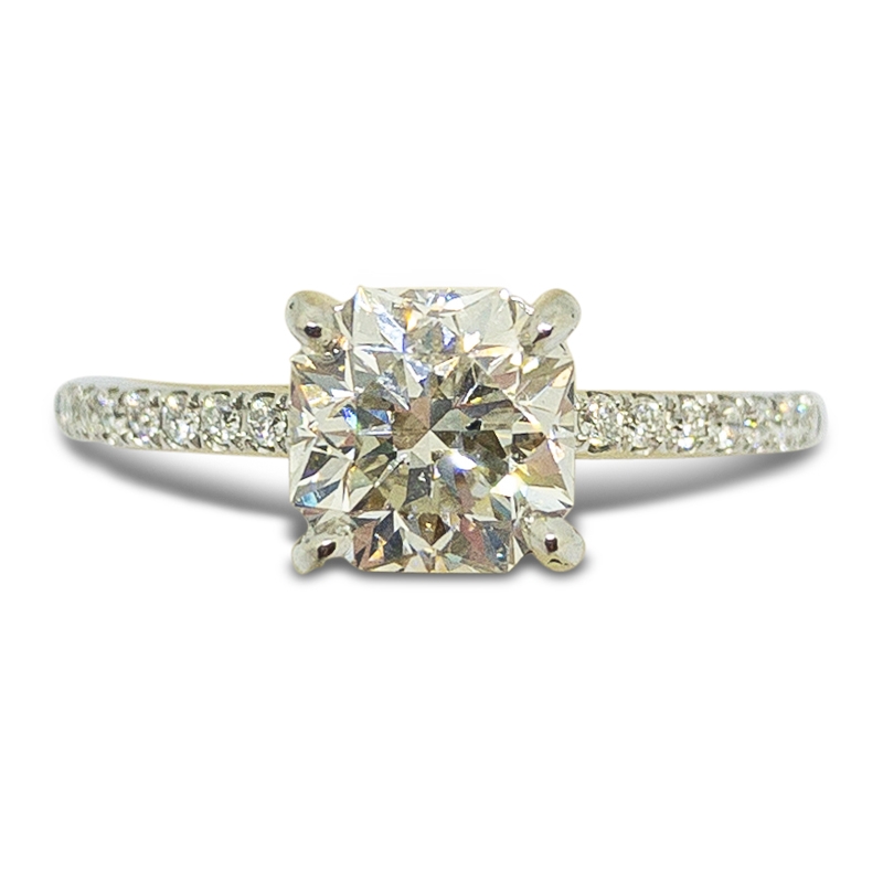 1.51ct. Elara Cut Engagement Ring