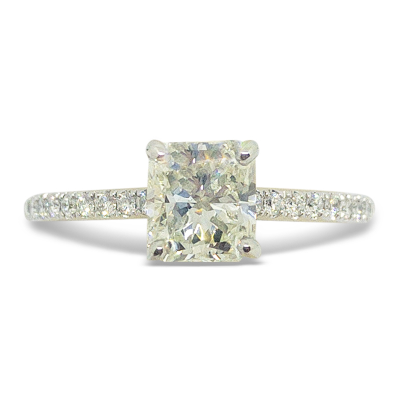 .92ct. Radiant Engagement Ring