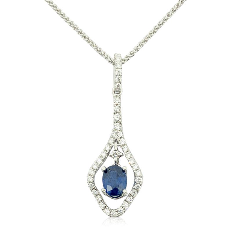 .51ct. Sapphire & Diamond Pendant