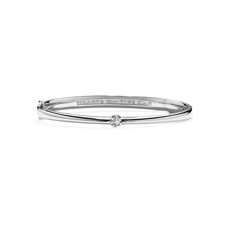 Solitude Diamond Bangle