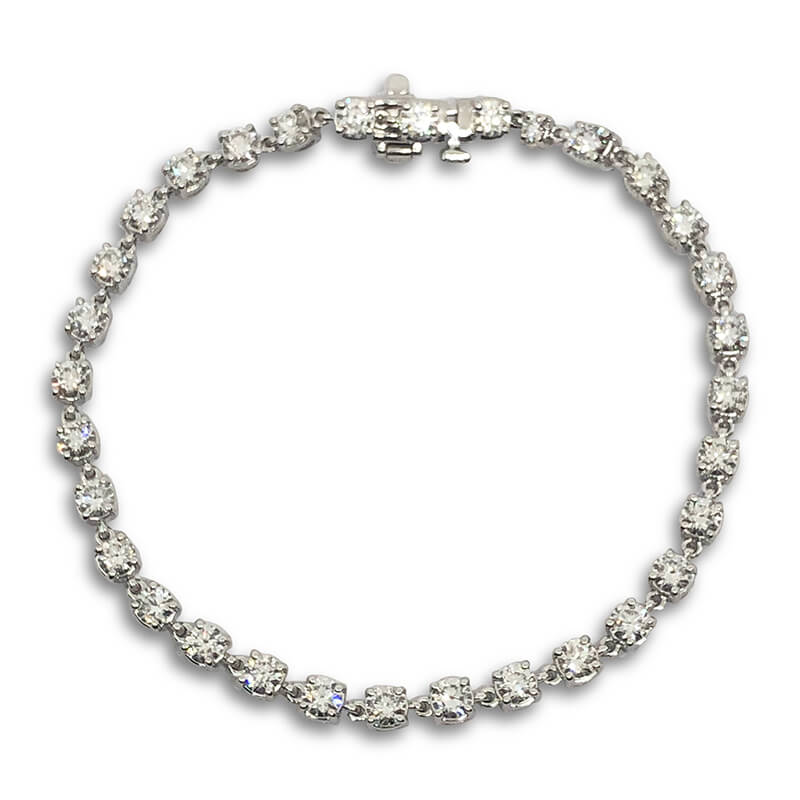 4.80ct. Diamond Tennis Bracelet