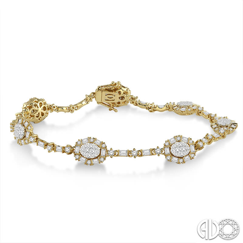 4.04ct. Diamond Bracelet