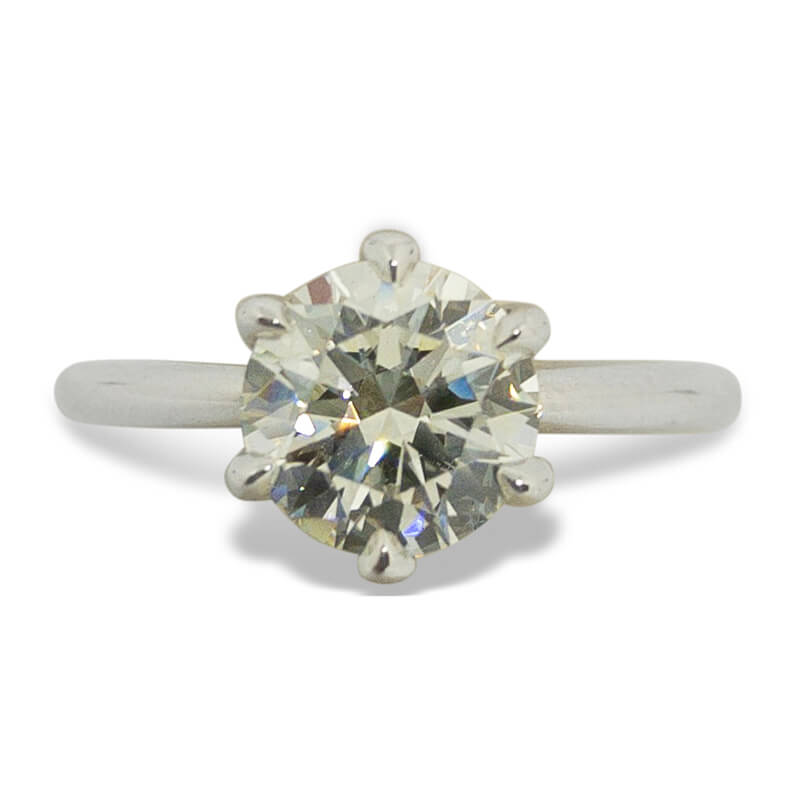 1.69ct. Solitaire Ring