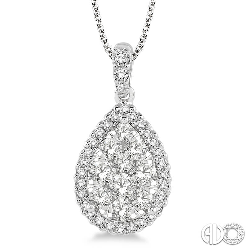2.00ct. Lovebright Pendant- WG