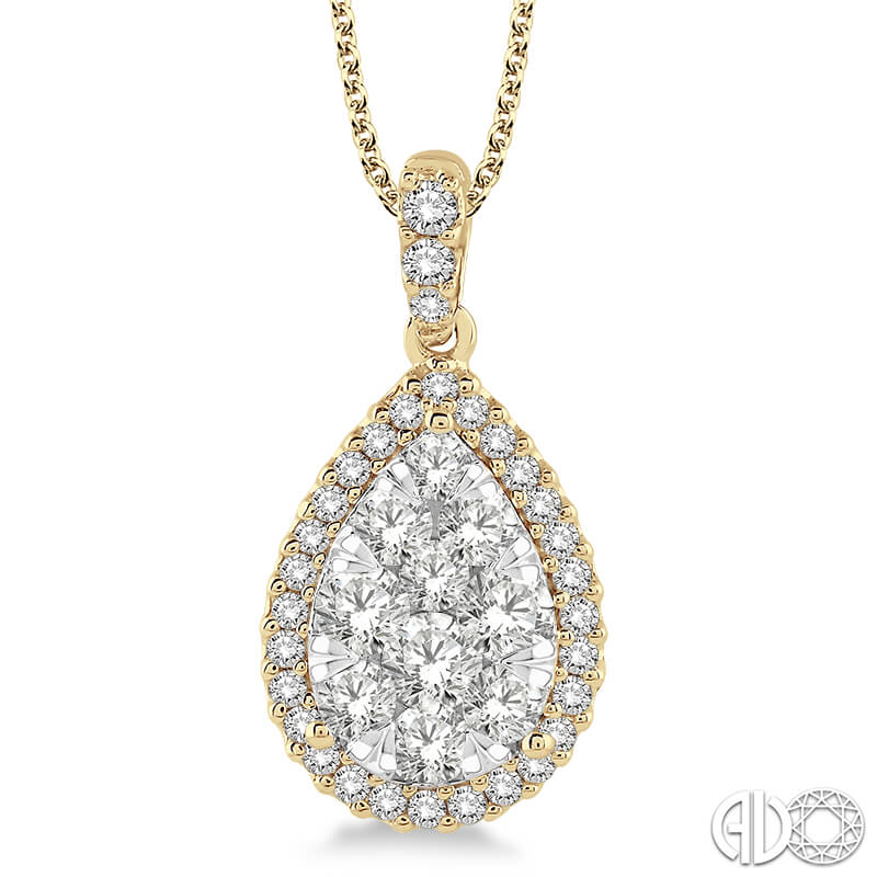 2.00ct. Lovebright Pendant- YG