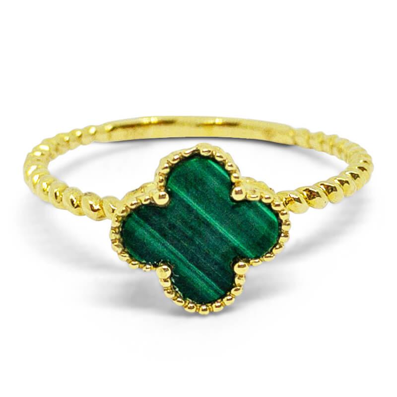 Small Malachite Ring