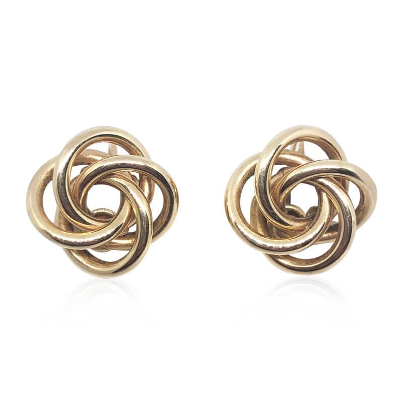 Love Knot Earrings- Estate