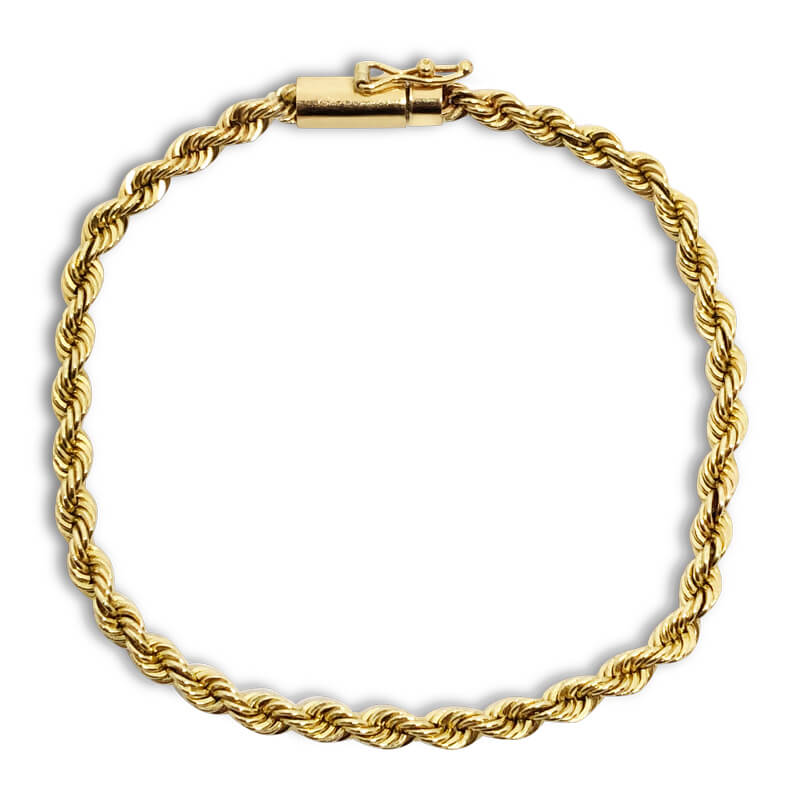 "6.75"" Rope Bracelet- Estate"
