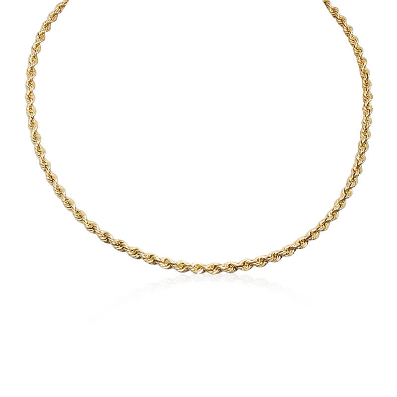 """14"""" Rope Necklace- Estate"""