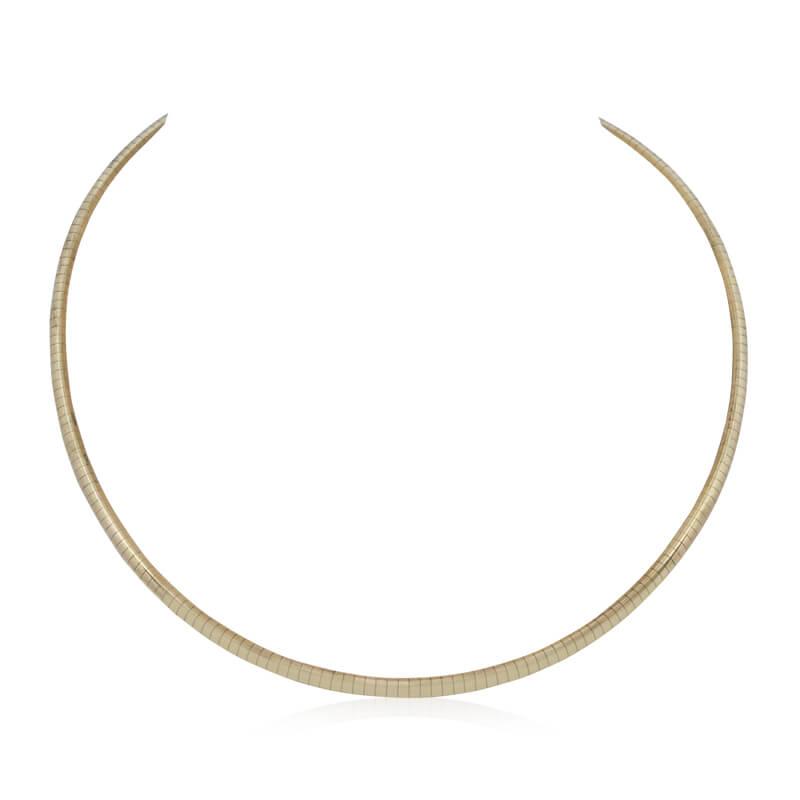 3.25mm Omega Necklace- Estate