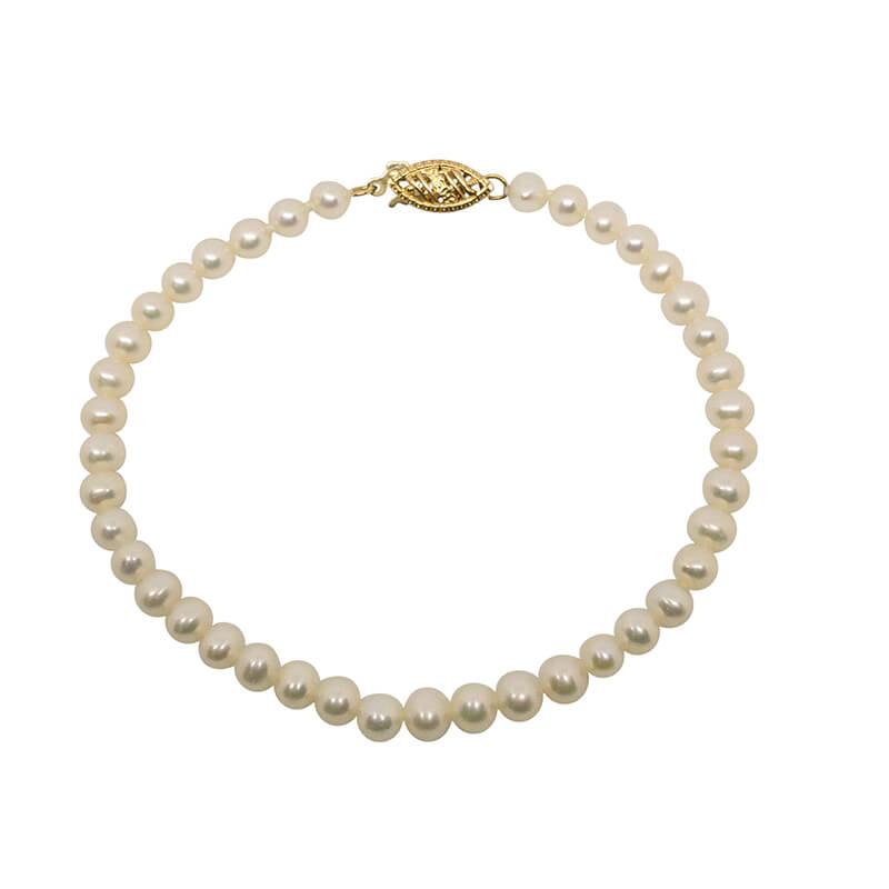 4 x 4.5mm Pearl Bracelet
