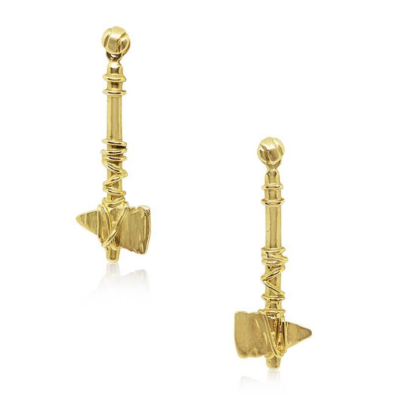 Tomahawk FSU Earrings