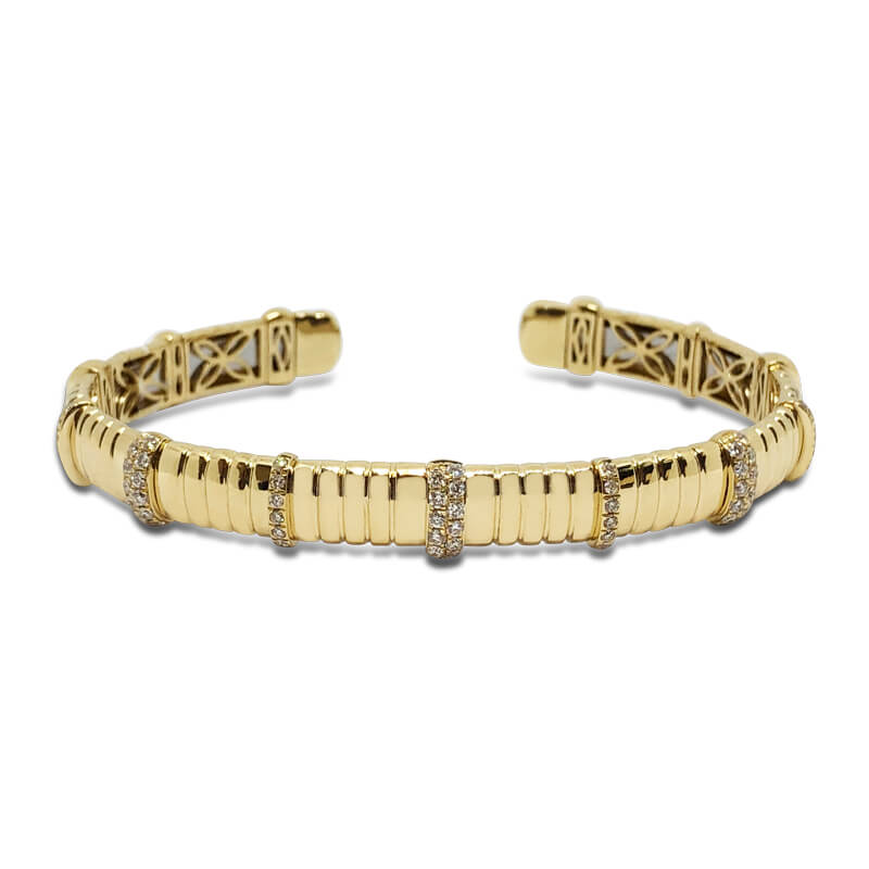 .60ct. 18kyg Bangle Bracelet