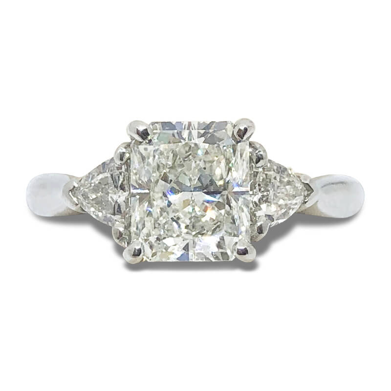 1.80ct. Radiant Cut Ring
