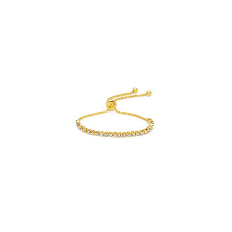 1.00ctw. YG Bolo Bracelet