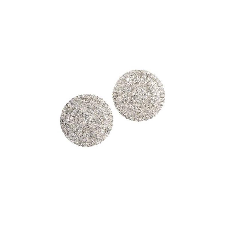 2.70ctw. Pizza Earrings