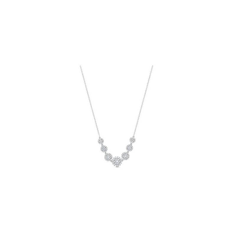 1.57ctw. Cascade Necklace