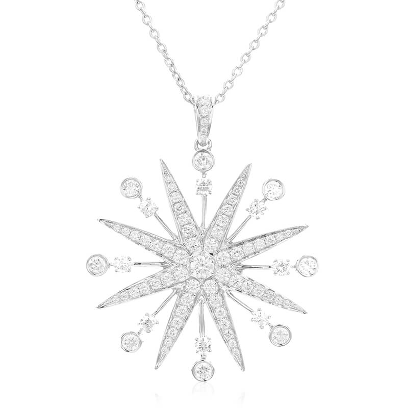 1.60ct. Starburst Necklace