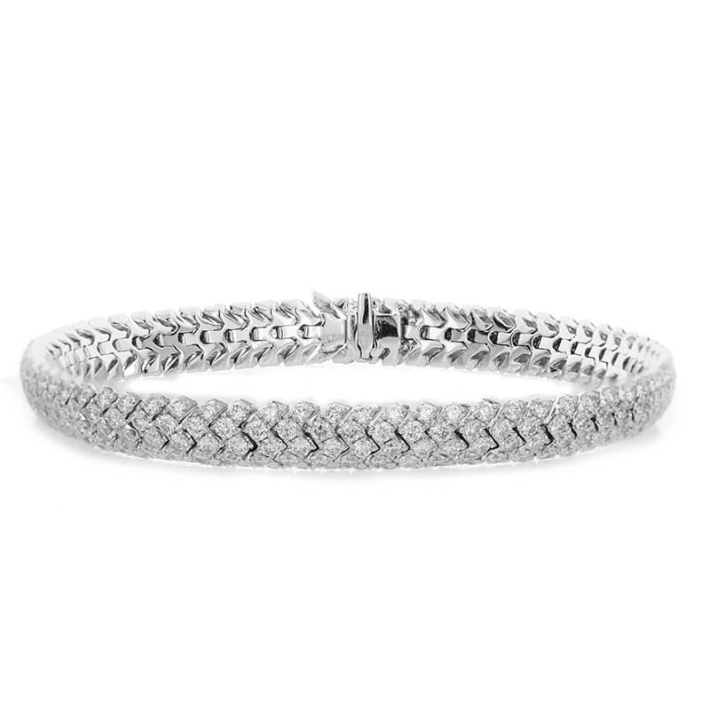 7.50ct. 5 Row Bracelet
