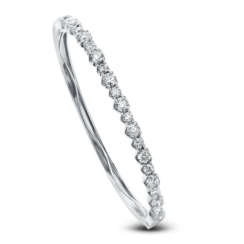1.75ct. Hinged Bracelet