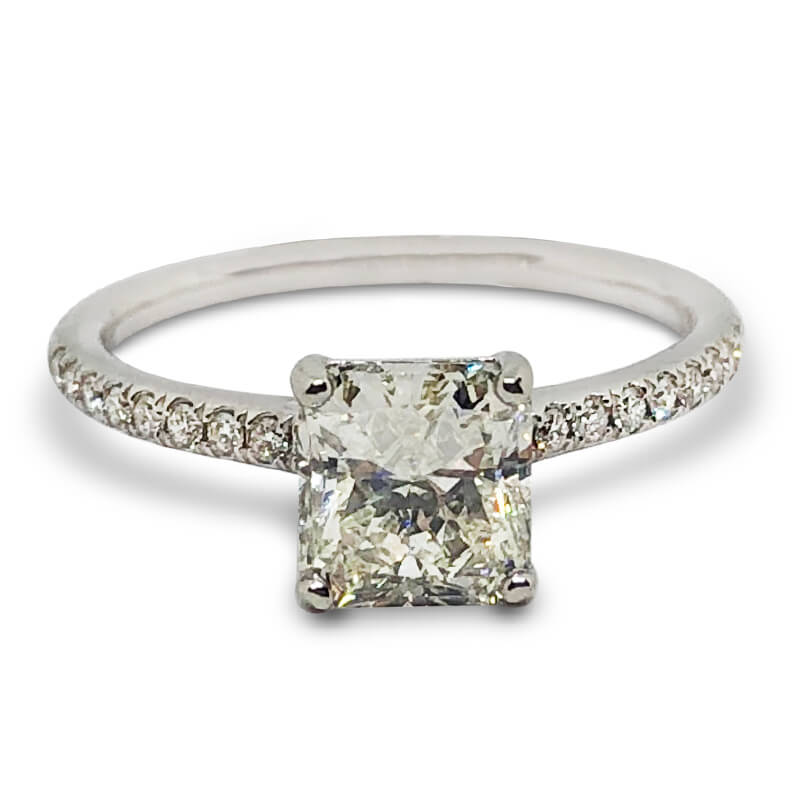1.25ct. Radiant Solitaire Ring