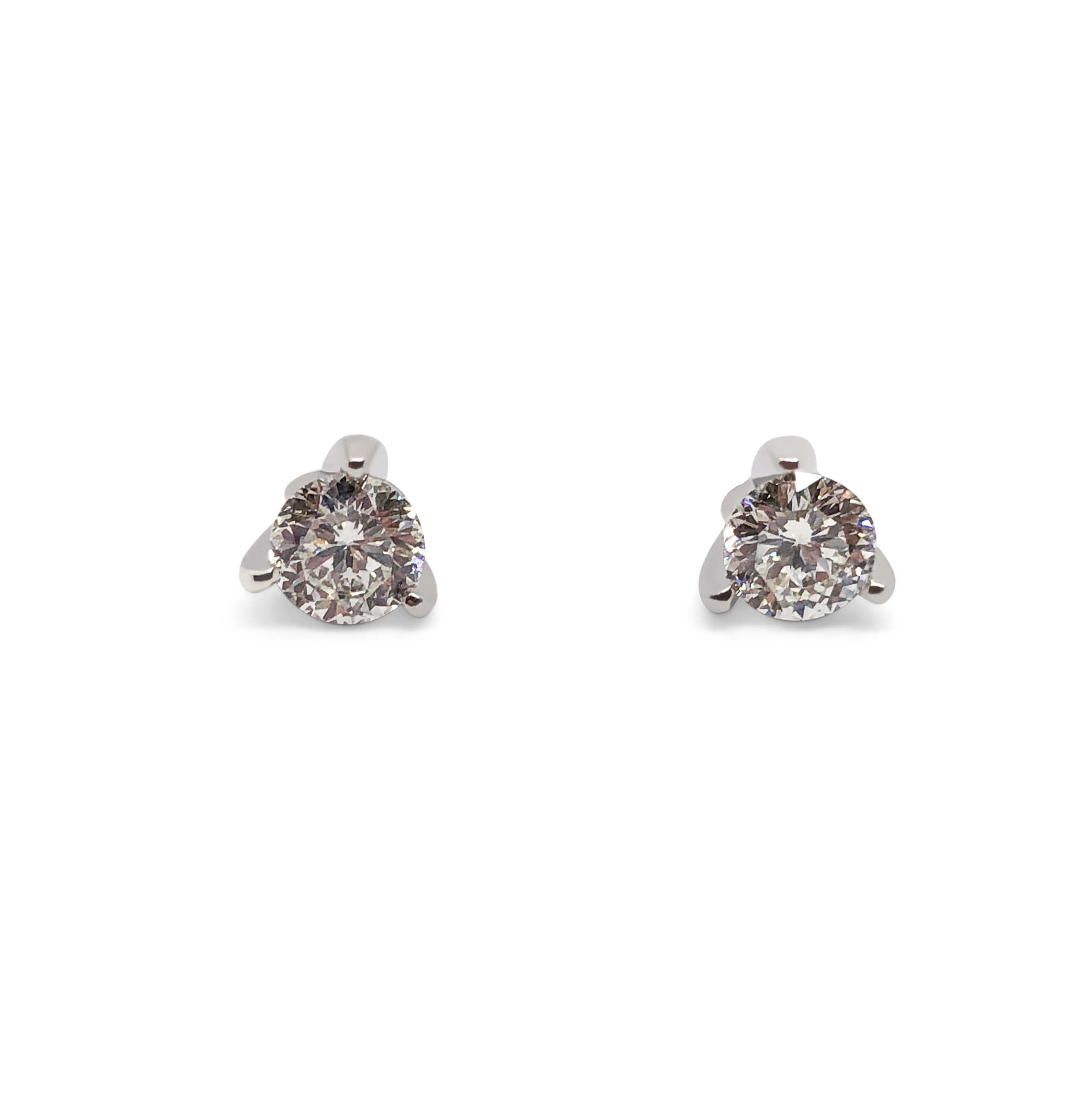 .92ct. Cento Diamond Studs