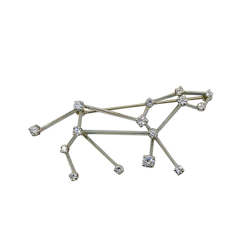 Dog Constellation Pin