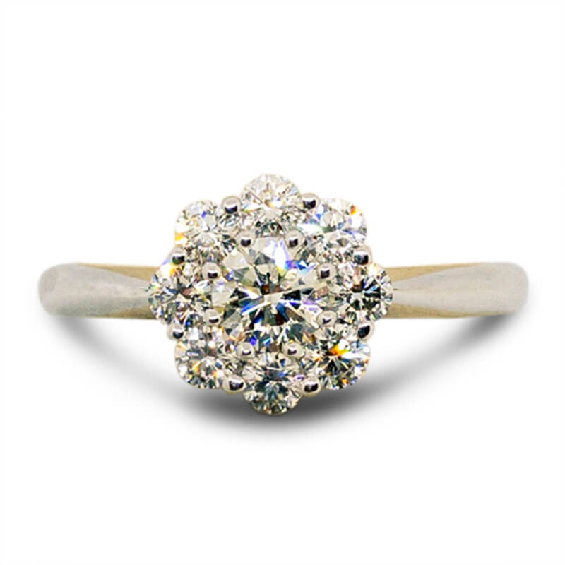 .69ct. Blossom Ring