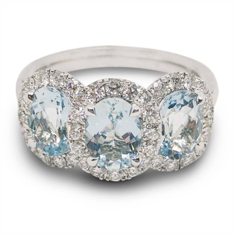 1.99ct. Aqua Ring
