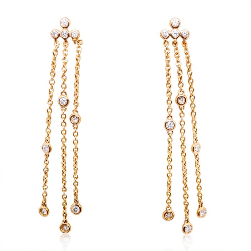 .32ct. Diamond Dangle Earrings