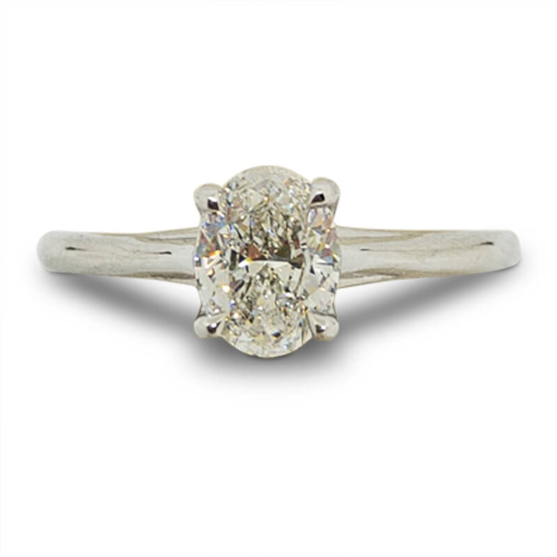 .80ct. Oval Solitaire Ring
