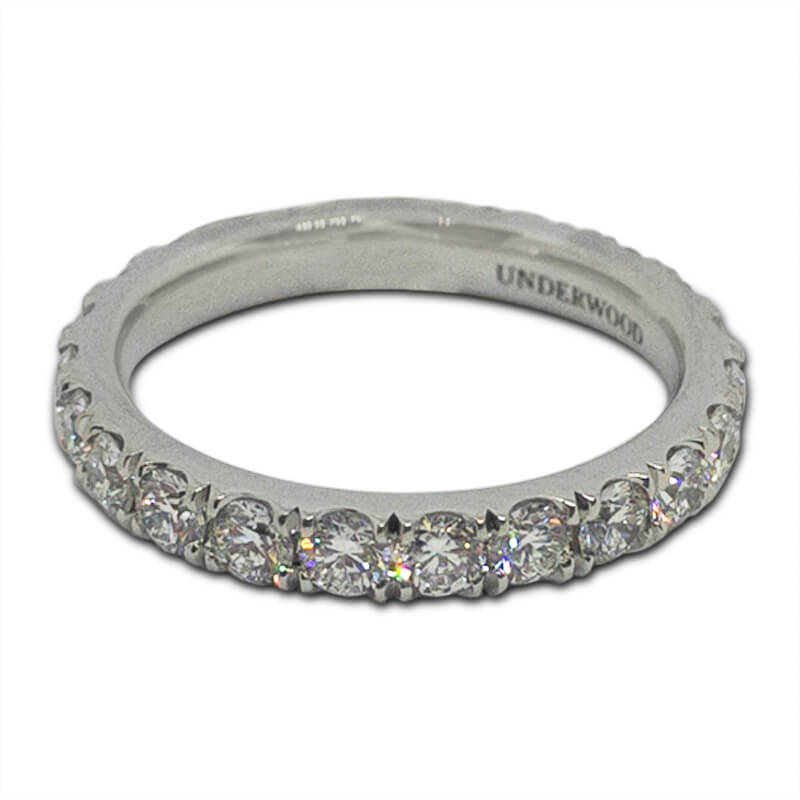 1.65ct. Platinum Eternity Ring