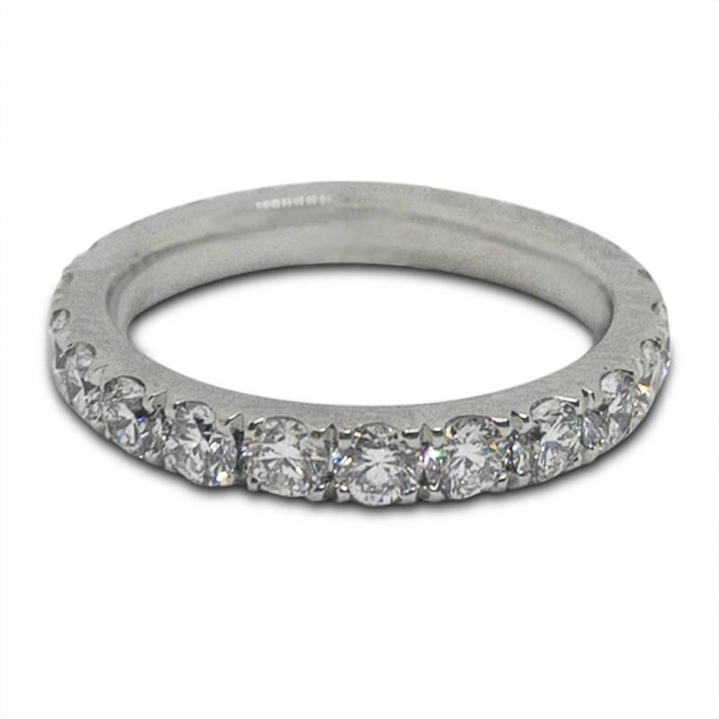 1.40ct. Platinum Wedding Band