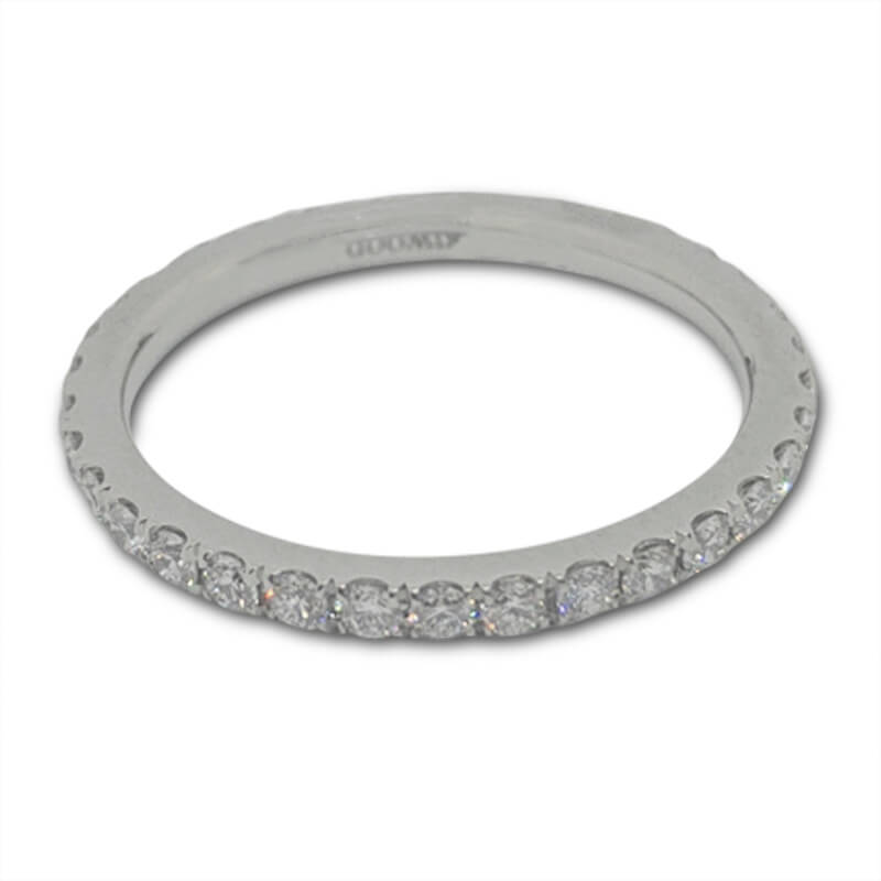 .65ct. Platinum Eternity Ring