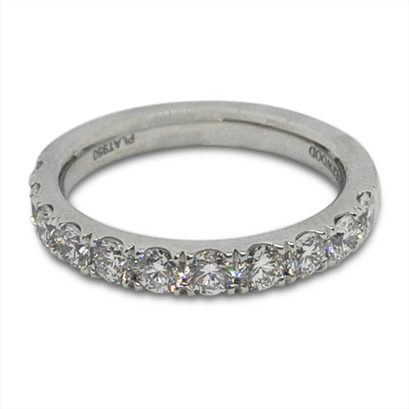 1.00ct. Platinum Wedding Band