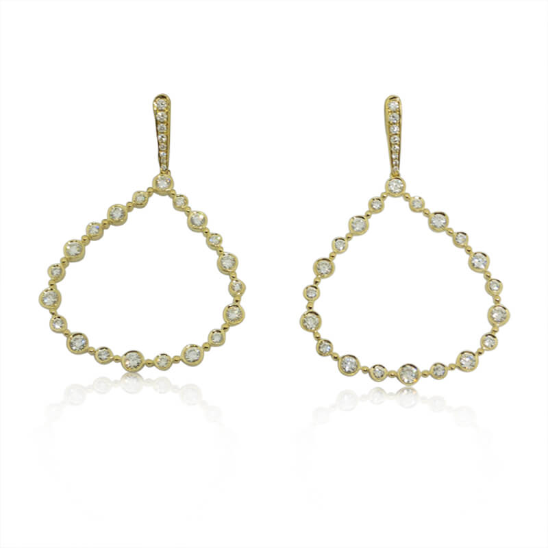 2.06ct. Dangle Earrings