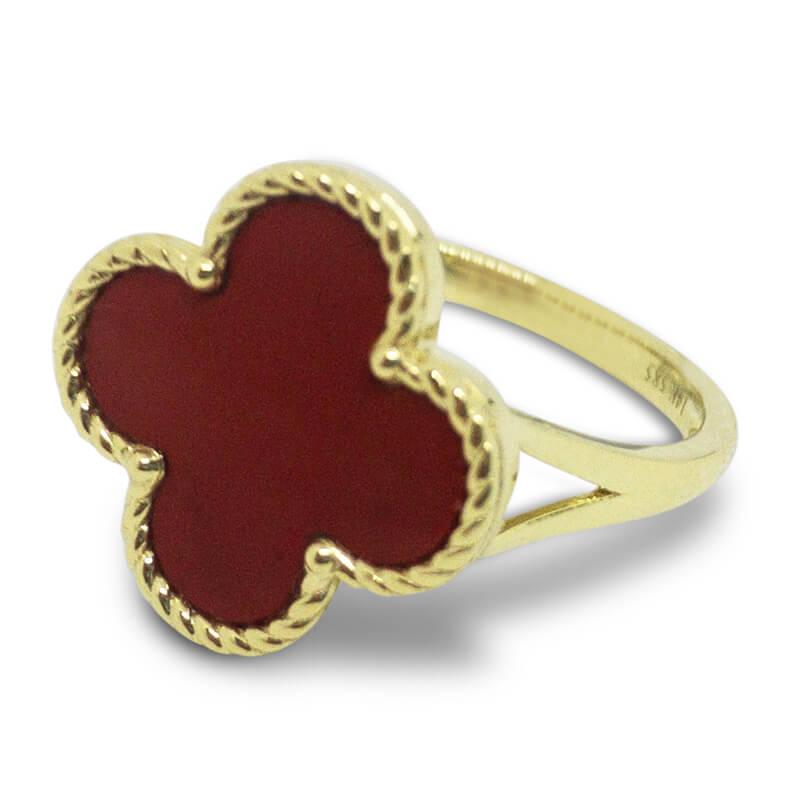 Red Onyx Ring- Sm