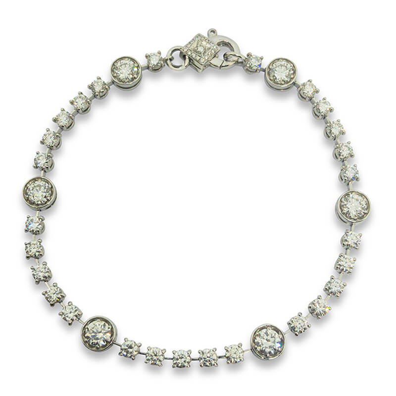 4.60ct. Diamond Bracelet