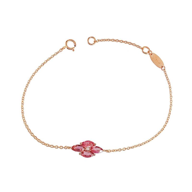 Palva Pink Tourmaline Bracelet