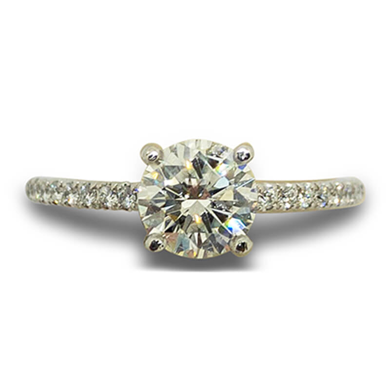 .91ct. Solitaire Ring