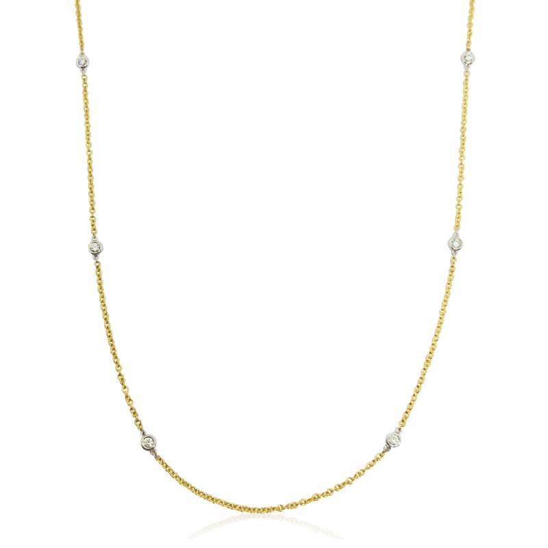 .18ct. Diamonds By the Yard Chain