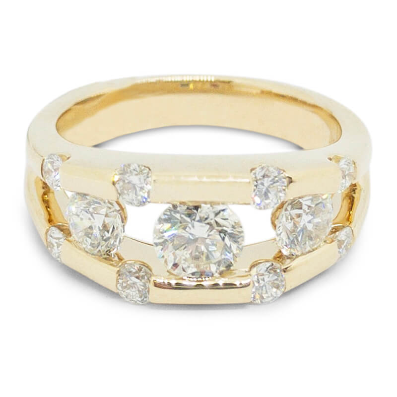 1.50ctw. Modern Engagement Ring