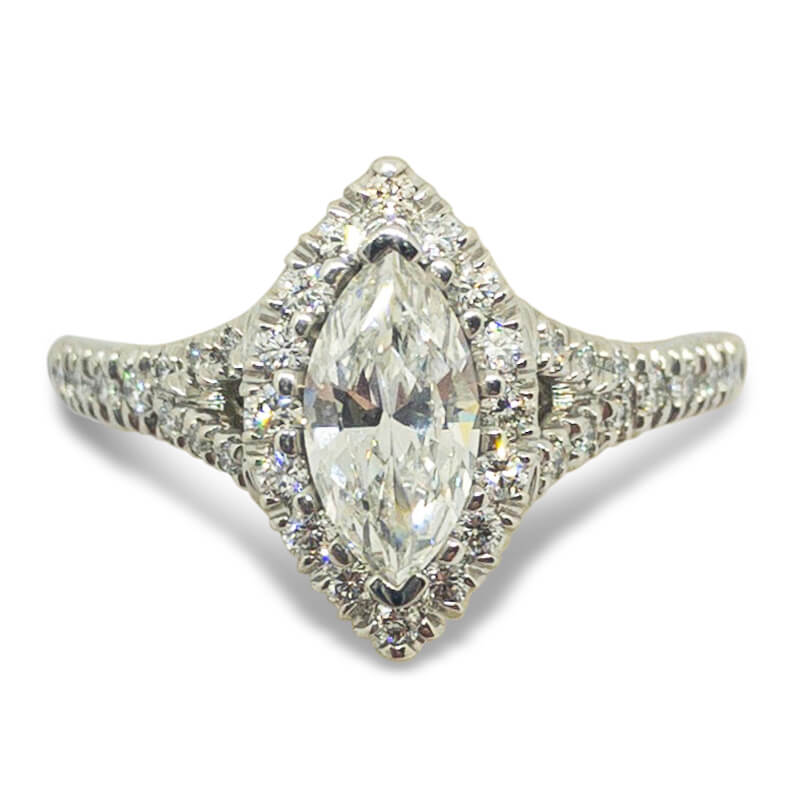 .94ctw. Marquise Engagement Ring