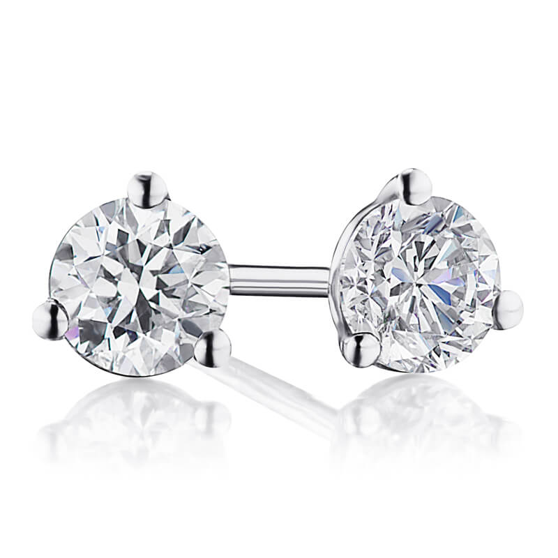 .51ctw. Diamond Studs