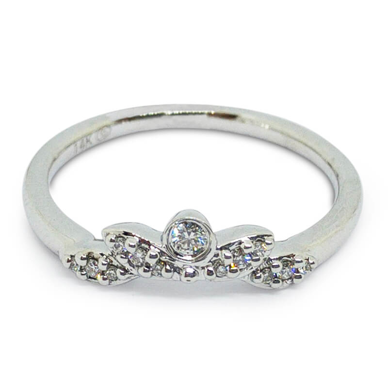 .07ctw. Tiara Ring