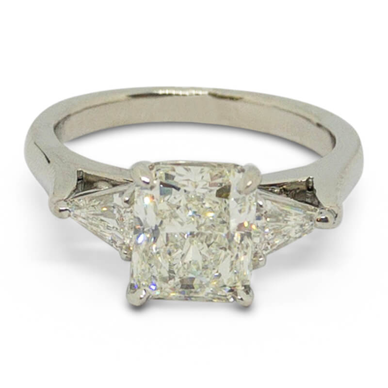 2.40ctw. Radiant Cut Ring