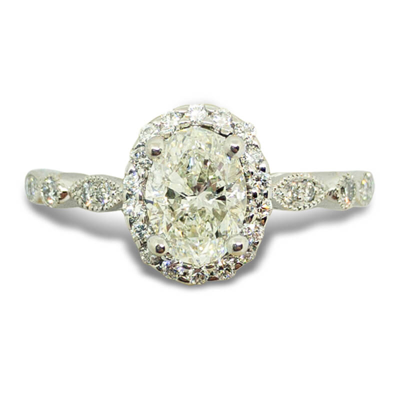 1.25ctw. Vintage Style Ring