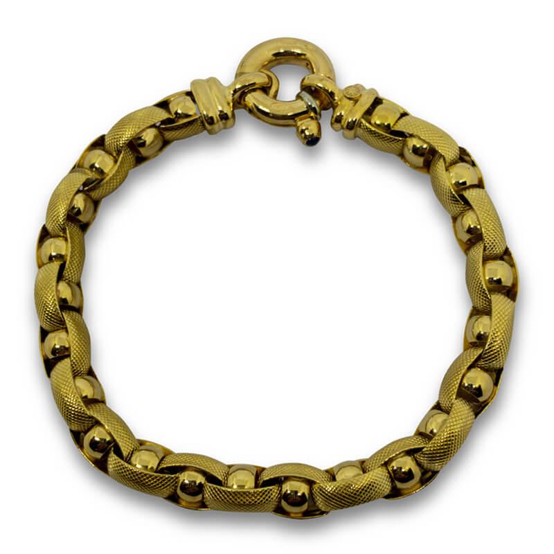 """Oval Link 7"""" Bracelet"""