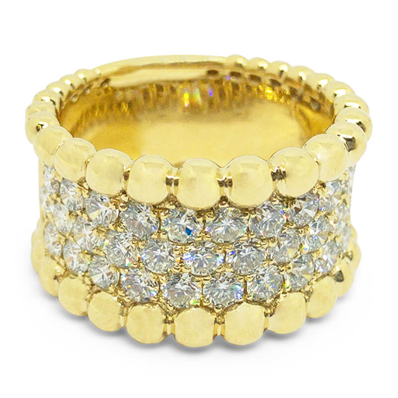 2.00ctw. Wide Diamond Band